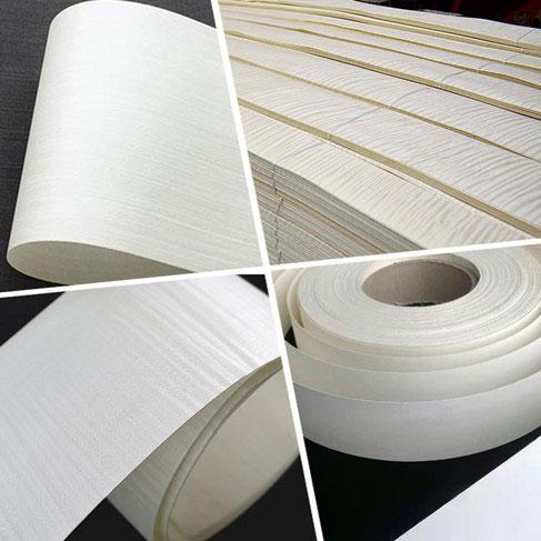 white wood veneer