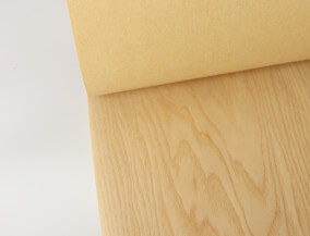 paper back ash veneer