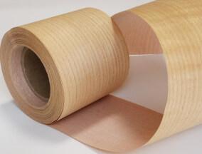 Rollos de chapa de madera